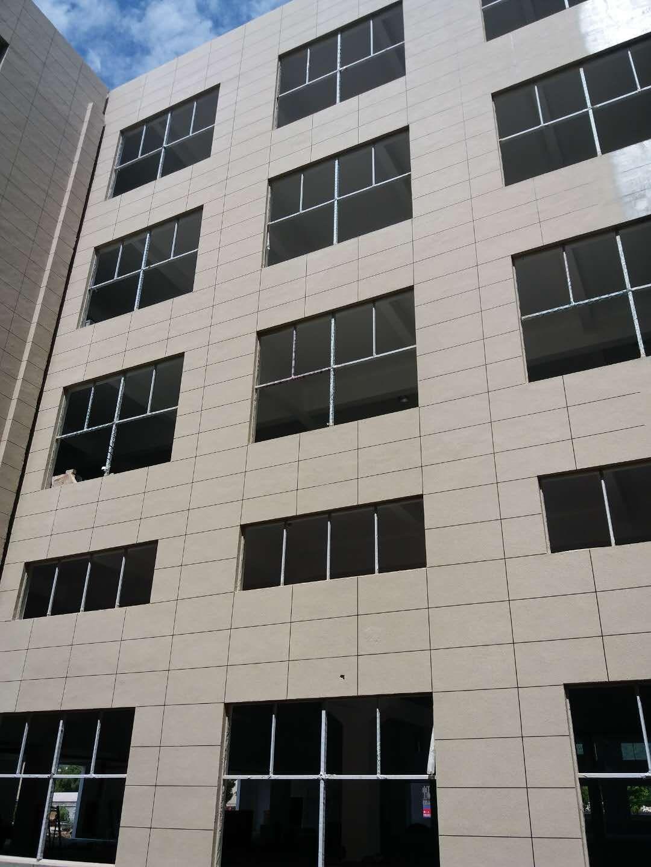 中博廠房外墻真石漆工程圖1