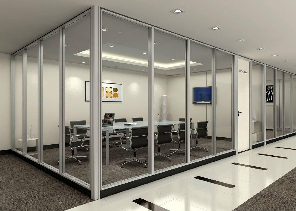 苏州办公玻璃隔断安装建议