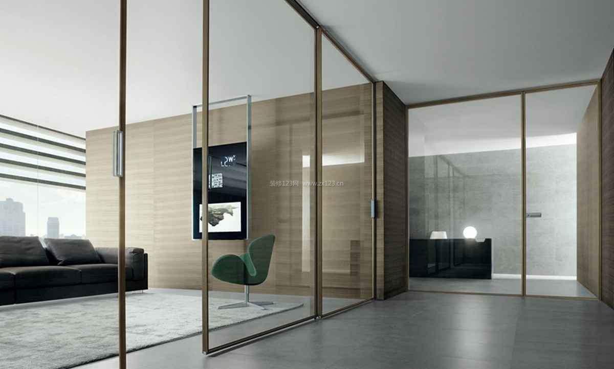 烟台办公室玻璃隔断的安装工艺操作流程讲解(二)