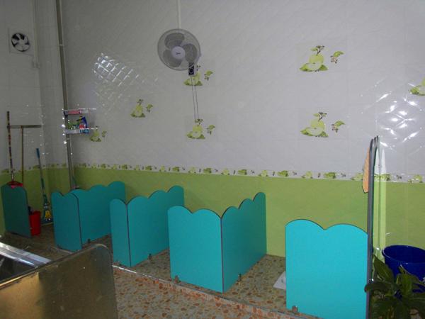 幼儿园设卫生间隔断设计要注意哪些要素?