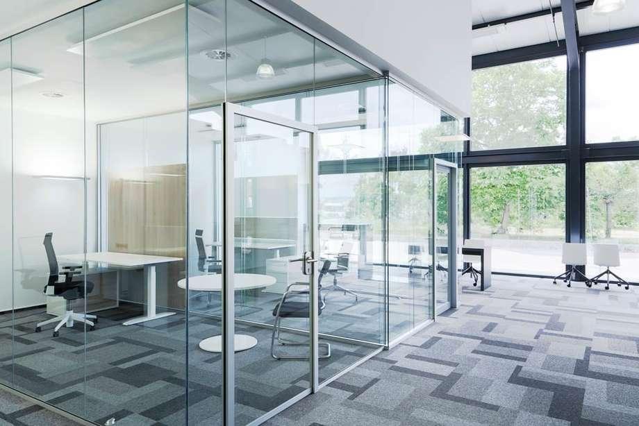 西安格尚惠隔断推荐办公室装修设计隔断的几种方法