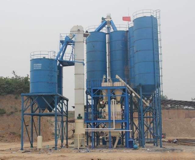 干粉砂浆设备的混合系统性能是怎样的?