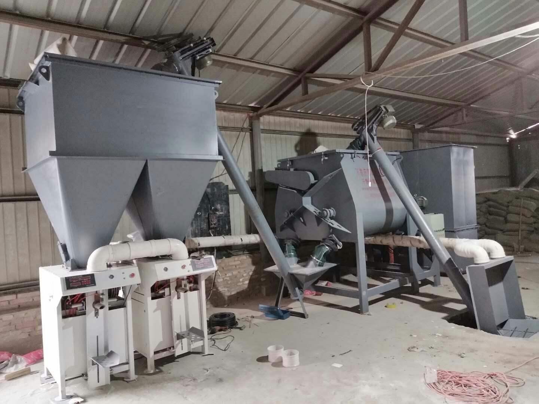 干粉砂浆设备生产线的分类及详解