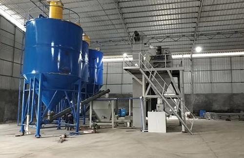 干粉砂浆生产线的混合程度都有哪些?