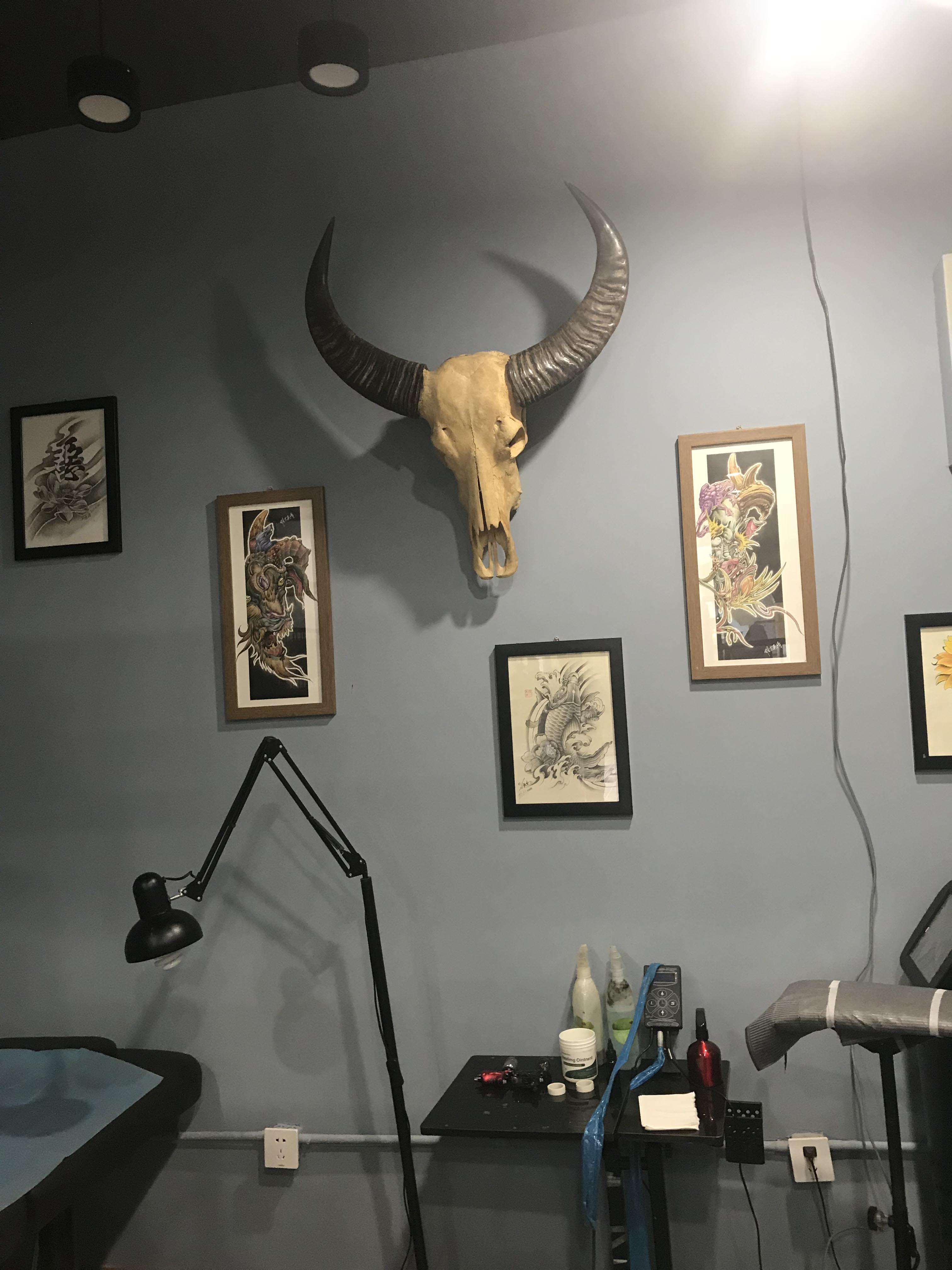 西安纹身环境展