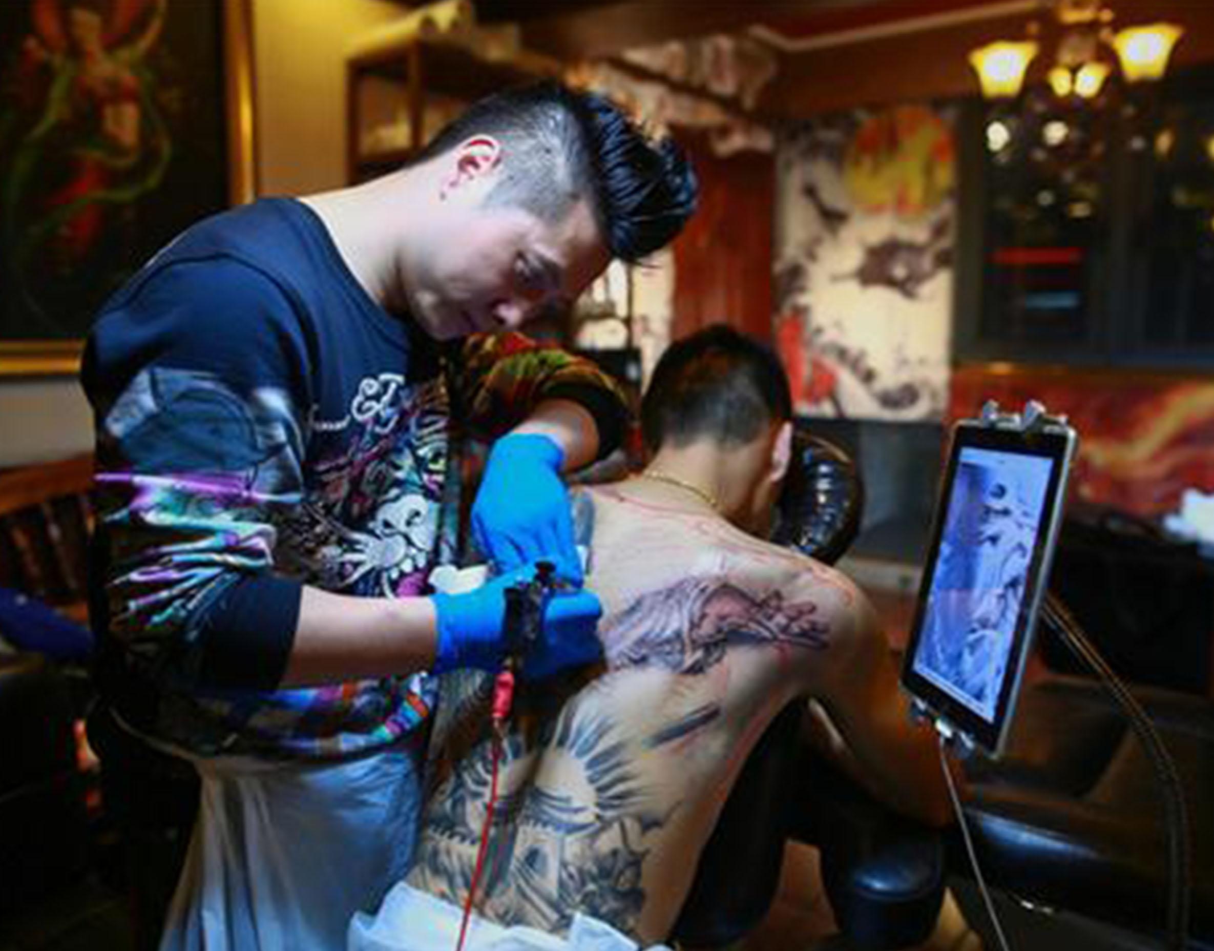 纹身培训机构