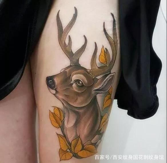 西安钟楼纹身