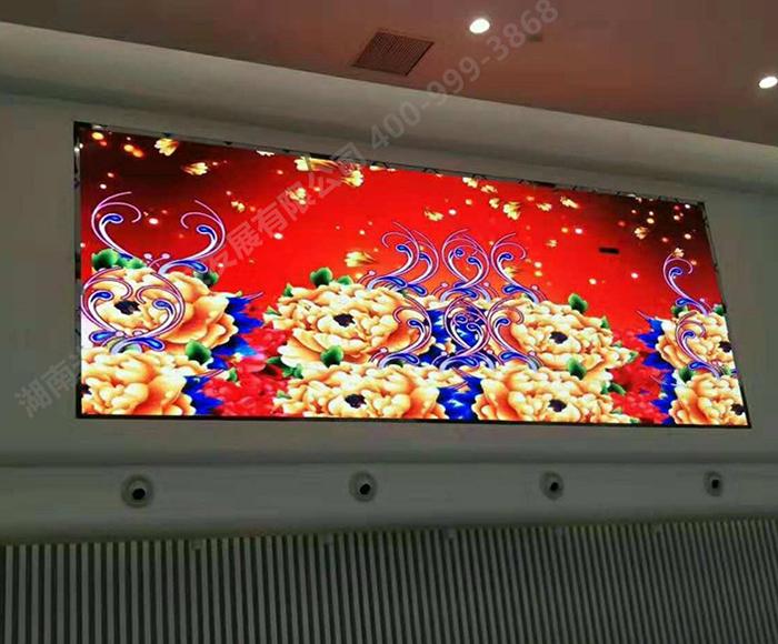 宁乡某部门P2.5室内全彩LED显示屏