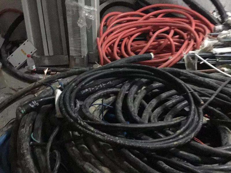 废旧电缆线回收案例