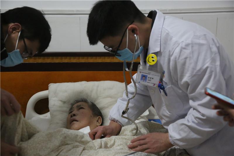 桂林秀峰养老院卧床患者体检