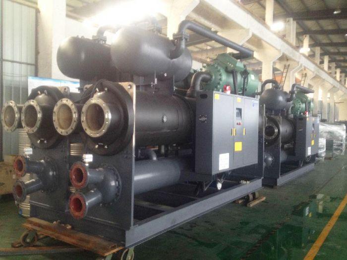 兰州水冷螺杆机工业冷水机安装