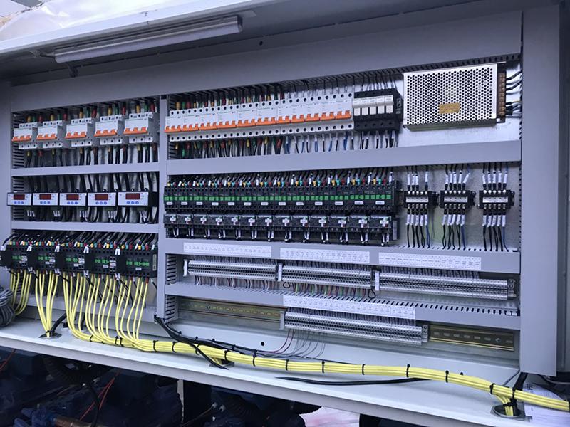 甘肅施耐德變頻器控製櫃施工