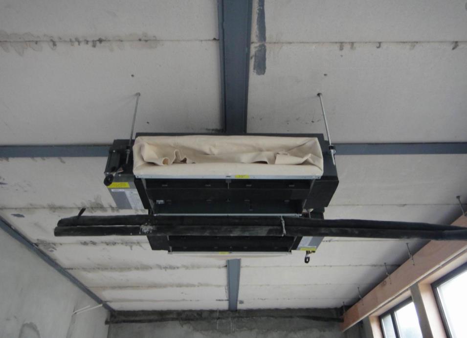 兰州新中央空调安装现场