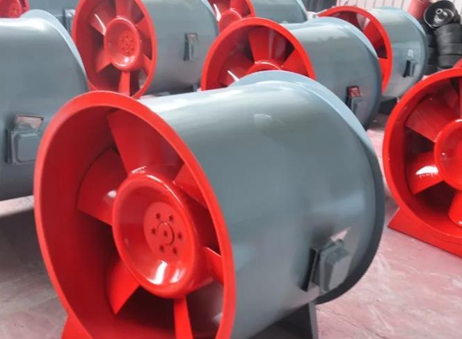 兰州风机厂家详解消防排烟风机的减震方法以及叶轮旋转不平衡的原因