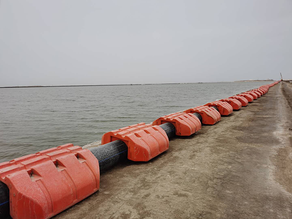 鹽湖集團鉀肥公司鹽湖湖面管道輸送系統