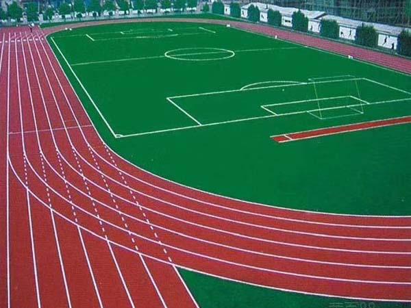 兰州球场塑胶跑道