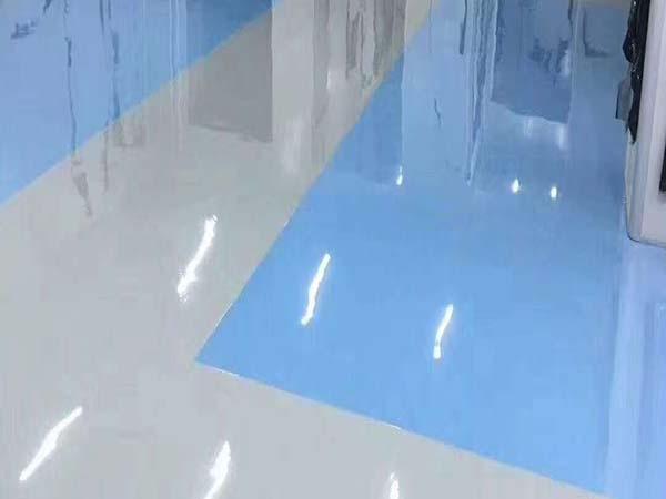 环氧地坪漆表面应该如何清洗呢?