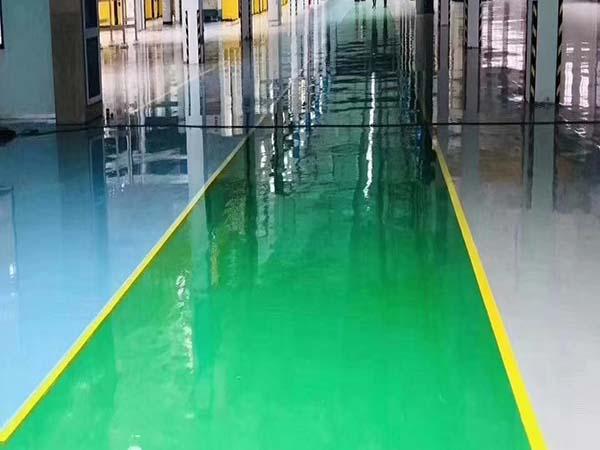 环氧地坪漆施工的难点表现在哪些方面?