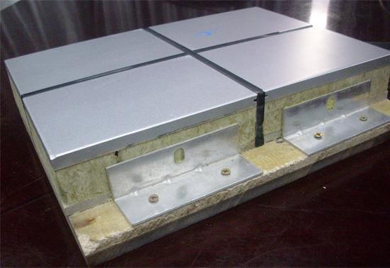 鋁面板保溫裝飾一體板