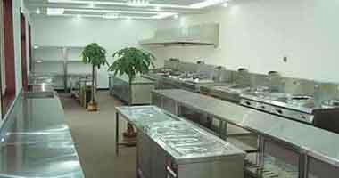 酒店商用厨房设备安装