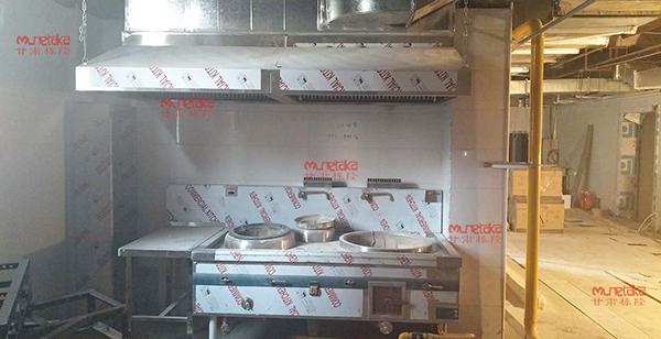 甘肃稀土公司厨房设备安装案例
