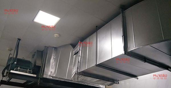 甘肃稀土公司厨房排烟系统安装
