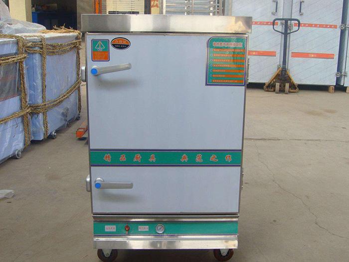 酒店厨房设备中的蒸饭车使用保养方法