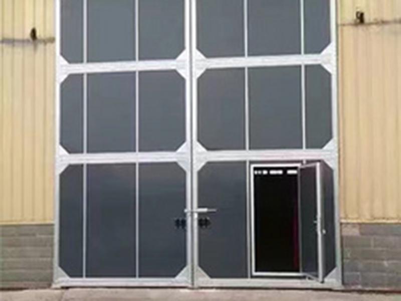 折叠厂房门
