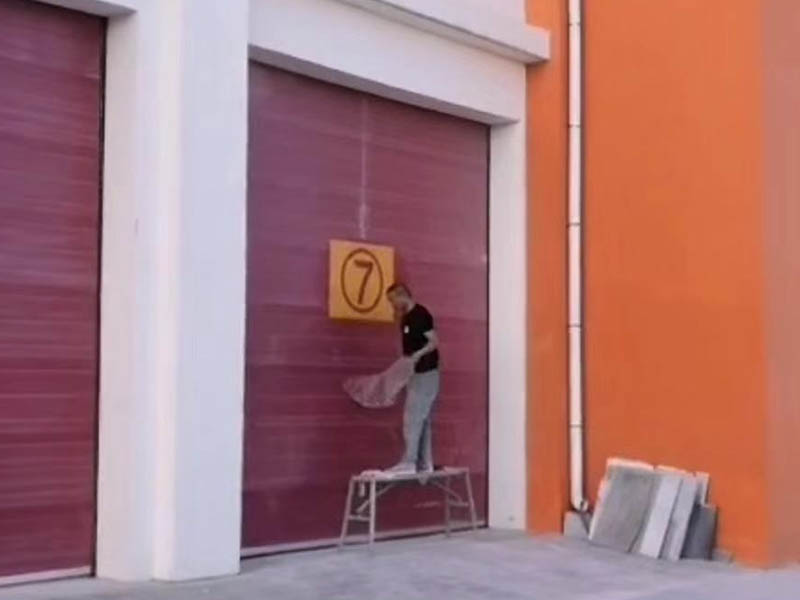 消防车库门