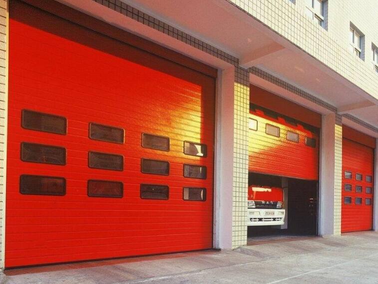 张掖机场消防滑升门