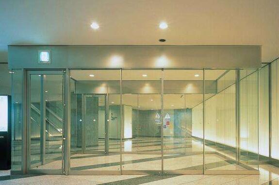 宾馆玻璃感应门