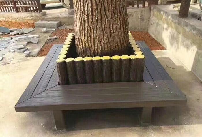 景观仿木花箱