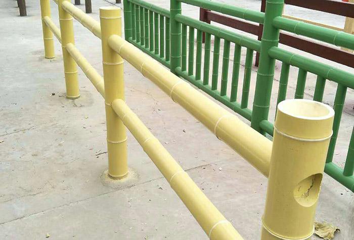 兰州仿竹水泥护栏