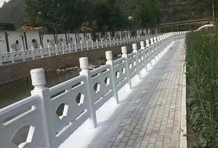 景区水泥仿石护栏