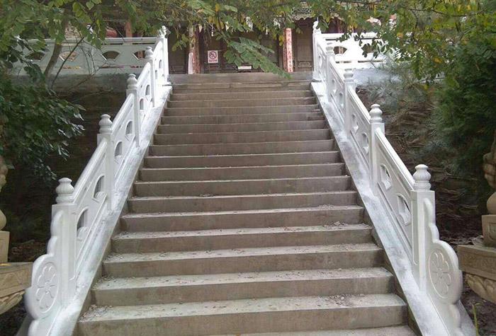 兰州楼梯仿石护栏