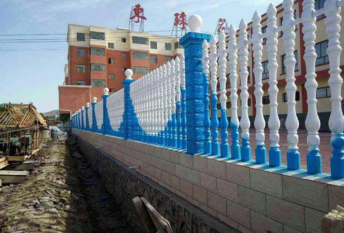 别墅仿石围栏