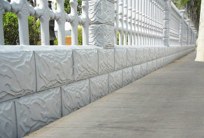 兰州水泥围栏厂家浅谈水泥艺术围栏的特点