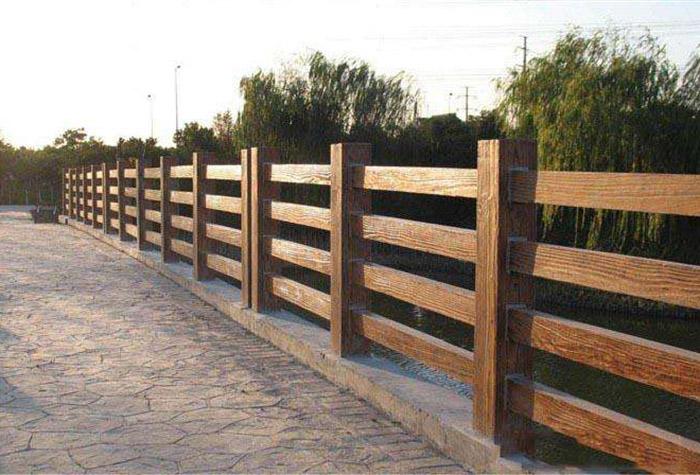 怎么安装兰州仿木护栏