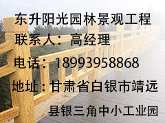 甘肃东升阳光园林景观工程联系方式
