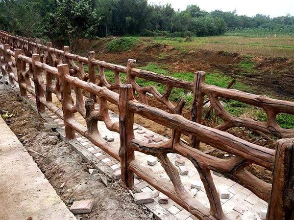 当下的水泥仿木栏杆发展方向