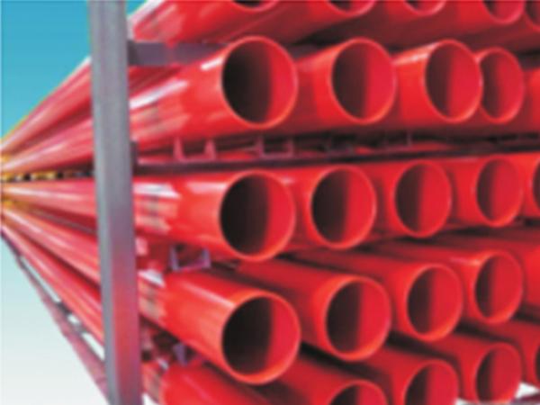 涂塑EP钢塑复合管(消防用)