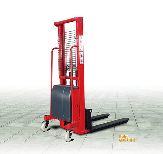 SDYG-E半电动托盘堆垛车