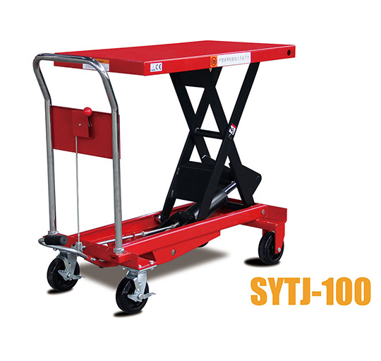 SYTJ-100液压平台叉车