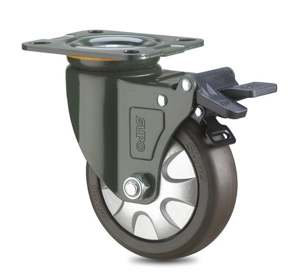 蘭州向榮黑膠腳輪