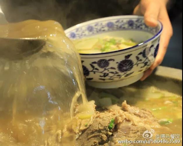 兰州牛肉拉面汤