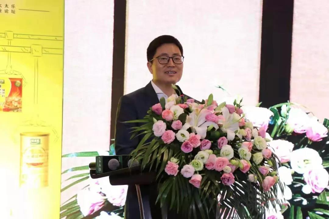 海太太乐食品有限公司总裁张西强讲话