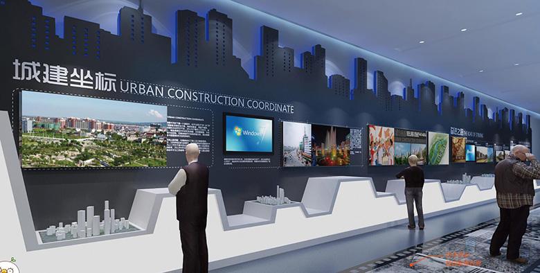 兰州规划馆展示设计施工