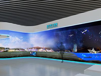航天军工设备展览馆设计