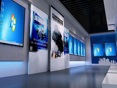 智慧安全教育展厅设计