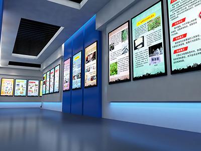 智慧展馆多媒体展墙设计